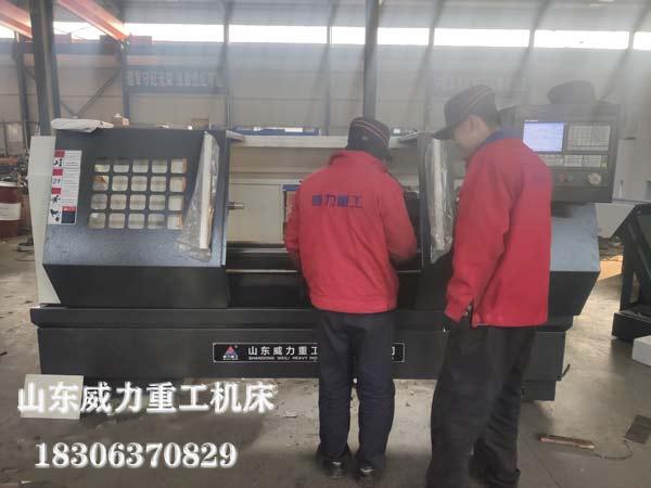 CK6150数控车床生产装配图片